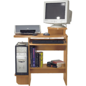 book case, book rack, book shelf, cd rack, cd's rack, Compact Rack, computer, computertable, furniture, keyboard tray, printer space, Wood