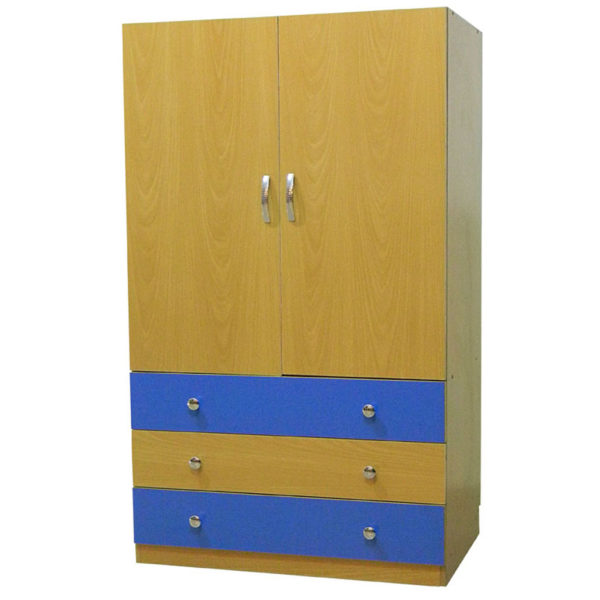 Wardrobe with Drawers in Multicolor Model 501