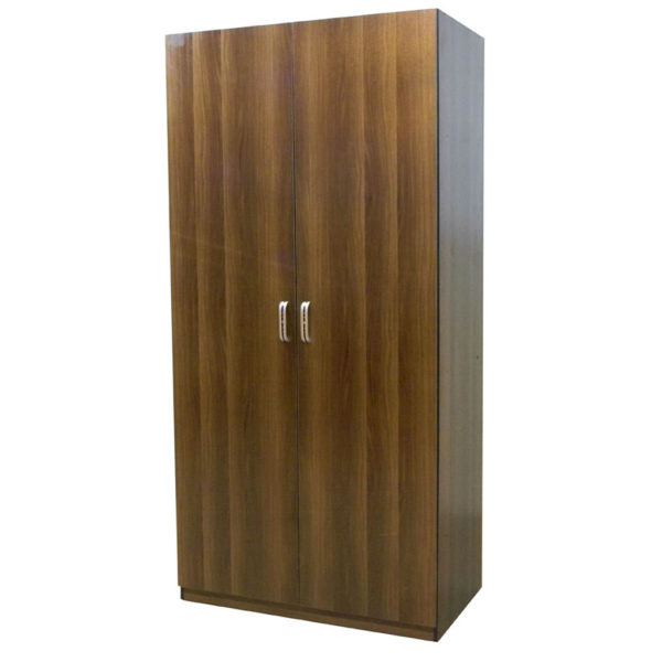 Wardrobe Plain Solid Doors Model 507