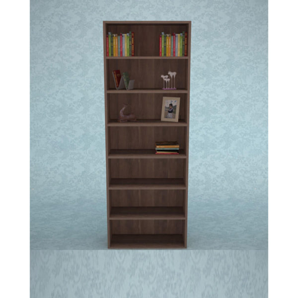 Book Rack – Dark Brown Color (3 x 7) Model 103