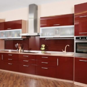 Color Themed Cabinets