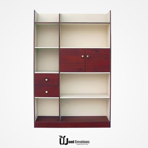 File Rack with Storage Box model-118