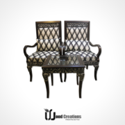 bedroom, bedroom chairs, chairs, elegant, furniture, high back, luxury, royal, Wood, woodcreations